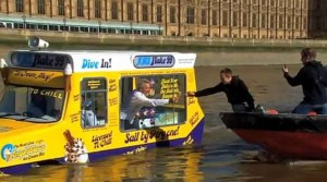 Photo courtesy of: http://inhabitat.com/hms-flake-99-worlds-first-amphibious-ice-cream-truck-trawls-the-thames/